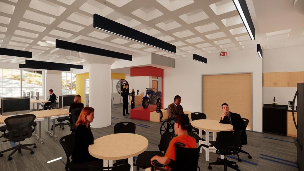 Workspace: Co-Working & Lobby
