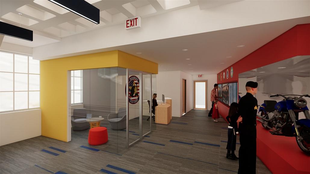 Workspace: Reception & Posdcast